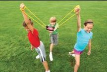 Summer Games for Kids / A collection of fun games to keep kids active and healthy this summer.