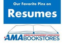 Great Resumes / Stand out from the pile. / by American Management Association Bookstores