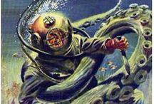 deep sea diver