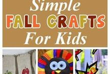 Fall Craft Ideas For Kids / Fun and creative craft ideas for kids to celebrate the new Fall season. ^KM