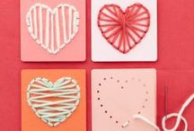 Kids Valentines Day Crafts / Cute craft ideas that are just perfect for Valentines Day!!