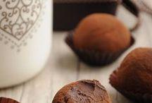 Chocolates,fudge & toffees.