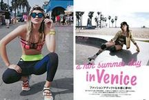 """ELLE girl 7月号 / ELLE girl july """" a hot summer day in Venice"""" STYLING:KEIKO HITOTSUYAMA"""
