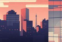 CITIES / Иллюстрации