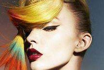 Colour Braids Inspiration / Coloured Braids #color #colorhair #hair #Braids #hairstyle #hair #braidstyles #hairstyles #hairinspiration #hairstylist #vlechtkapsels