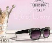 Life of Luxury Sonnenbrillen / Einen Hauch von Luxus in die Sonnenbrillen-Saison bringen -  mit diesen Sonnebrillen kein Problem! ;)