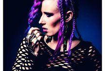 Colour Braids || Hairstyles || Vlechtkapsels / Colour braids || Vlechtkapsels || inspirational hairstyles by Ramona Krieger, Love2Braid