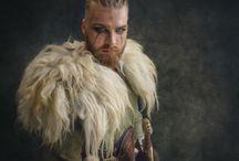 Viking Hairstyles by Love2Braid / Viking hairstyles by Ramona Krieger, Love2Braid Photographer Belinda Terrisse Models Alain&Dominique Honnebier Mua Petra Klein Costume designer Arvid van Ulzen, Arrrfantasy
