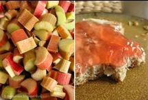 Cuisine Rhubarbe / by brigitte martin
