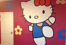 Unique Walls - Girls murals / Hand-drawn/painted girls themes murals www.uniquewalls.weebly.com