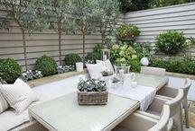 Garden / Trendy tuin ideeën