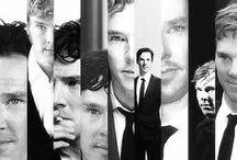 Benedict Cumberbatch/ Sherlock and More / Only Black & White