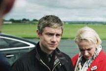 Martin Freeman & Amanda