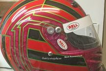 Race Helmet Painting And Design / Race helmet painting, design 2015 by Don Johnson, airbrushgallery.com