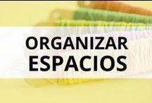 ORGANIZAR ESPACIOS / Ideas para ordenar tus materiales  y tener un taller bien organizado