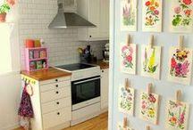 Ideias Criativas Decoração / Dicas para reutilização de materiais, decoração e faça você mesmo.