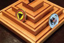 Challenge Coin Display Racks