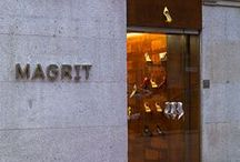 """MAGRIT SHOP MADRID / Nueva tienda de MAGRIT en la """"Milla de Oro"""" de Madrid, C/ José Ortega y Gasset 19, donde podrás probarte todos nuestros modelos y conocer nuestro servicio Couture, de zapatos por encargo.  No puedes pasar por Madrid sin conocerla, ¿te apetece una tarde de zapatos?  MAGRIT"""