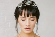 Celia Tiara / Celia Tiara   A tiara with labradorite crystals and delicate organic roots dipped in sterling silver. The roots are handwired with care. The roots and quartz have various shapes which makes every tiara unique.   More inspiration   Price: 196 Euro  http://naturae-design.com/products/tiara/celia%20tiara.html
