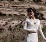 NATURAE DESIGN REAL BRIDES WEDDING / Real Brides wearing Naturae Design bridal headpieces and accessories