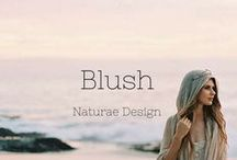BLUSH X NATURAE DESIGN / Delicate nudes and pink roses color inspiration. Curated for the dreamers by Naturae Design