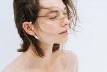 Earrings / Handmade earrings, jewelry, cute beaded earrings, boho studs