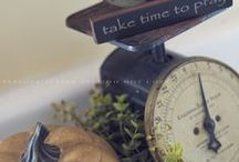 VINTAGE ANTIQUE SCALES / Old Scales are very versatile in an antique, country, vintage or farmhouse decor.