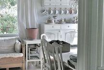 White homes & interiors