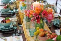 Table Deco- aan tafel- masadakiler