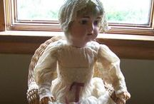 Antique and Collectible Dolls / We appreciate beautiful antique, vintage and collectible dolls. There is always so much detail and time into crafting these they are remarkable. Take a look and enjoy. Many of them are offered for sale so you could own one of these.