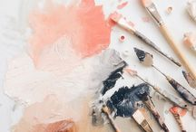 Pretty | Painting Inspiration / Inspiration for gorgeous paintings in every style imaginable