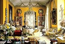 LIVING ROOM - Inspiration / by Henry Prideaux Interior Design