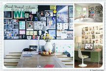 Mood board / Jeg har en vision om at lave en billedvæg hjemme i stuen, hvor jeg blander alskens billeder, fotografier og malerier.  Her er inspiration og eksempler jeg skal bruge for at overbevise min mand