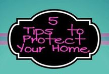 Protect Your Home from Damage / Steps you can take to protect your home from water, mold, sewage and fire damage.