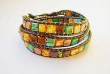 Bracelets / Beading and bead embroidery inspirations