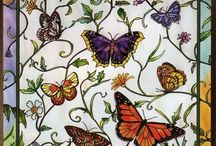Stained glass - glas en lood - vitray