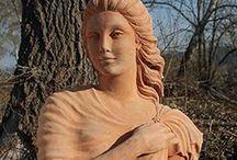 Statue di terracotta/ Earthenware Statues