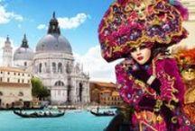 Itálie - Benátky / Benátky Řím a j.