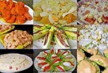 Recetas de ensaladas / Recetas de cocina sobre como preparar ensaladas