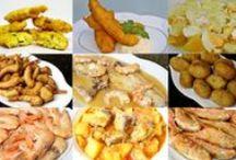 Recetas de pescados y mariscos / Recetas de cocina elaboradas con pescados y mariscos