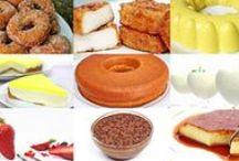 Recetas de postres / Recetas de cocina sobre como hacer postres para las comidas.