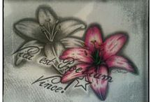 Zeichnungen / Tattoo Vorlage