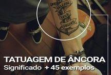 Tattos de Âncora / Querendo fazer uma tattoo de âncora, dá uma olhada nos exemplos que saem fora do comum.