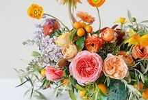 Pretty | Colorful Florals / The most gorgeous colorful flowers and floral designs all in one place