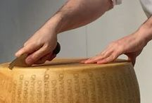 fermier-event / パルミジャーノ・レッジャーノとコンテチーズのカッティングショー。