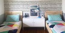 Boys Bedroom Ideas / Boys bedrooms from toddler to tween and everything in between.