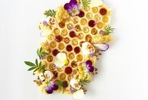 Honey is Art / Honey made into masterpieces. Food and Art.