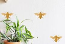 Buzzing Around the House / Items for the home that include bees!