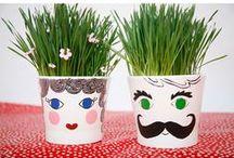 Crafty Little Bees / Kids crafts! Nature crafts. DIY. Kid art