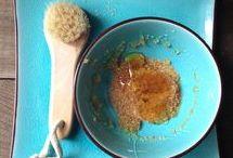 Honey, beauty, and health / Honey made beauty products. DIY. Honey. Natural health tips using honey.